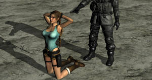 Lara Croft Execution by ArtiMuller