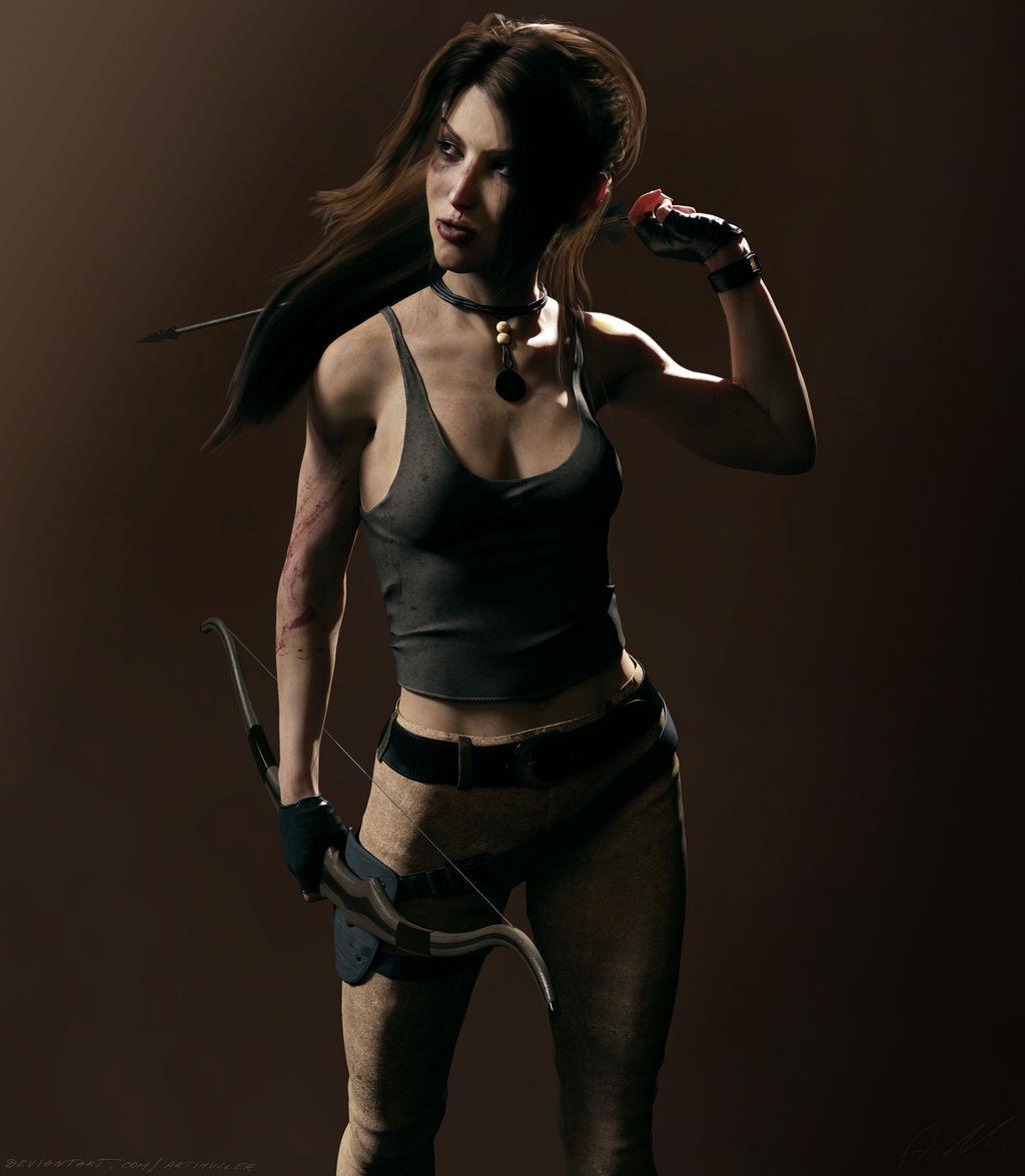 Wallpaper Tomb Raider Lara Croft Render Hd Games 1783: Lara Croft Reboot Version By ArtiMuller On DeviantArt