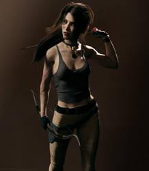 Lara Croft reboot version by ArtiMuller