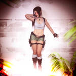 Tomb Raider 3 South Pacific Islands Lara by ArtiMuller