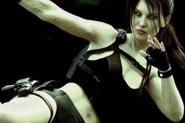 Tomb Raider Underworld Lara (small DOF) by ArtiMuller
