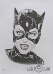 Catwoman by JackVolcano