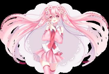 Sakura Miku by sasucchi95