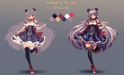 Adoptable 8: closed by sasucchi95