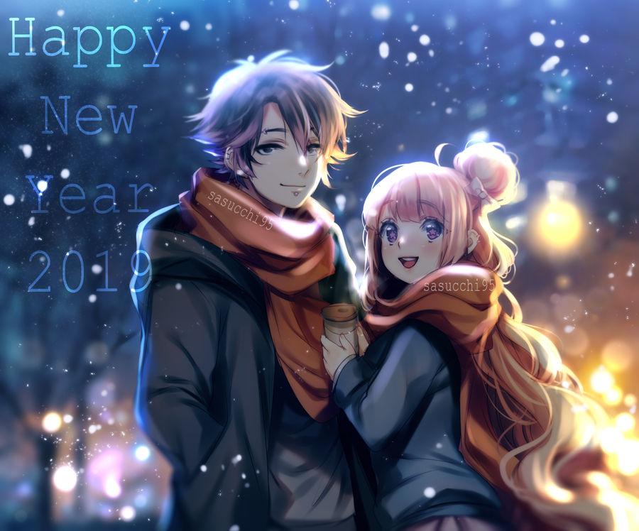 Pacman Deviantart 2019: Happy New Year 2019 By Sasucchi95 On DeviantArt