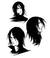 Severus Snape by ananovik