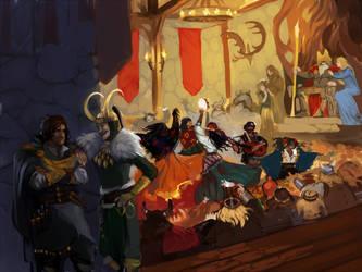 Gypsy in Asgard by ananovik