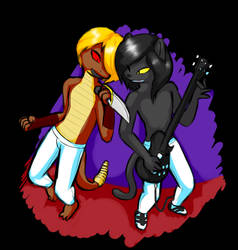 Ricky and Maxxie In Concert by KG5000