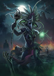 The Witch Doctor by andreiaugrai