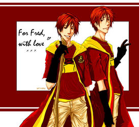 For Fwed - twins love by mariko-san