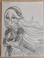 Corrin Sketch by LythiumBlaze