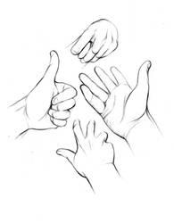 Hand Study 2 - 20130108 by StyrbjornAndersson