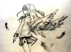 My angel by Regi-Nixous