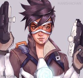 Tracer - for Sami by ManishaChan
