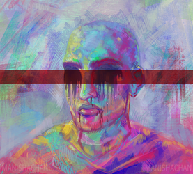 An experiment with colour by ManishaChan