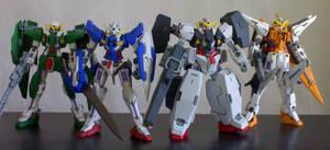 Gundam Meisters by nakoshinobi