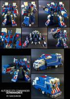 Armored Ultramagnus Classics by nakoshinobi