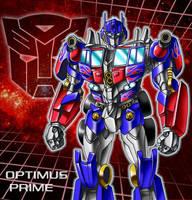 Optimus Prime movie full color by nakoshinobi