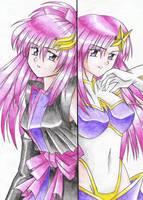 Two Lacus by nakoshinobi