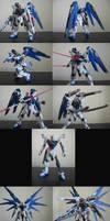 MG Freedom Gundam by nakoshinobi