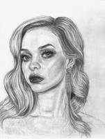 Portrait in graphite by 93Oasys