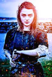 Arya stark by mossaabdaoui