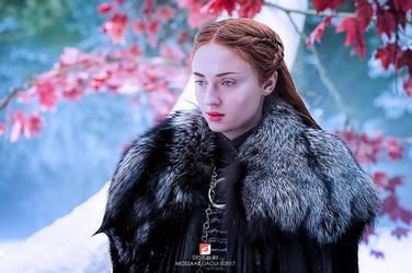 Sansa Stark by mossaabdaoui