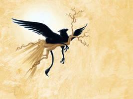 Black Griffin by jmsanford