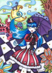 -Alice in Wonderland...- by mysticcookie