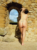 Ismene at the old Castle 4 by Nyckelpiga