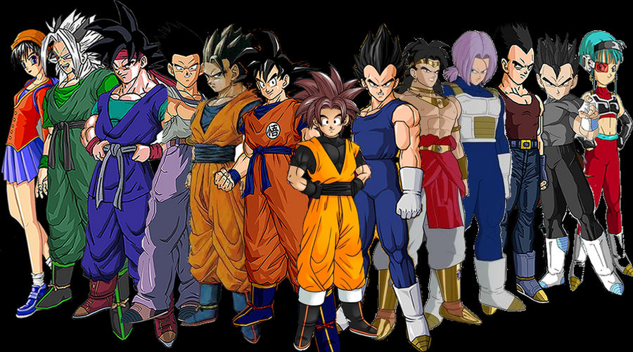 dragonball af saiyan survivors by goco tarrus on deviantart