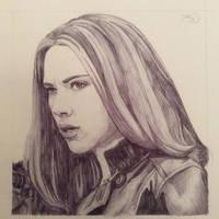 Natasha Romanoff by the-other-sam