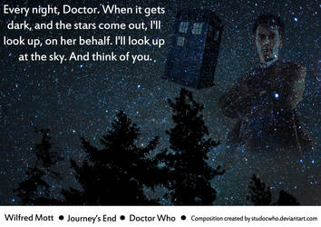 Doctor Who - Journey's End: Wilfred's Quote by StuDocWho
