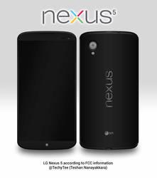 LG Nexus 5 according to FCC information by teerox