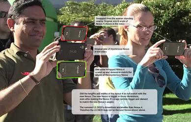 New Nexus and Nexus 4 comparison by teerox