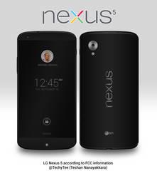 Nexus 5 Render by teerox