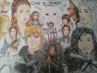 Game of Thrones by gone-cookie