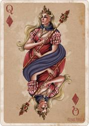 Queen of Diamonds by Sirtuuna