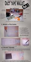 Duct Tape Wallet Tutorial 1 by akireru