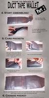 Duct Tape Wallet Tutorial 2 by akireru