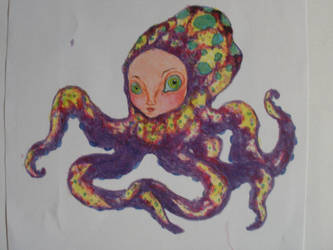 Octo Girl by LittleInkStain