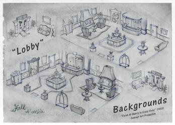 Background - Lobby by RedLittleHouse