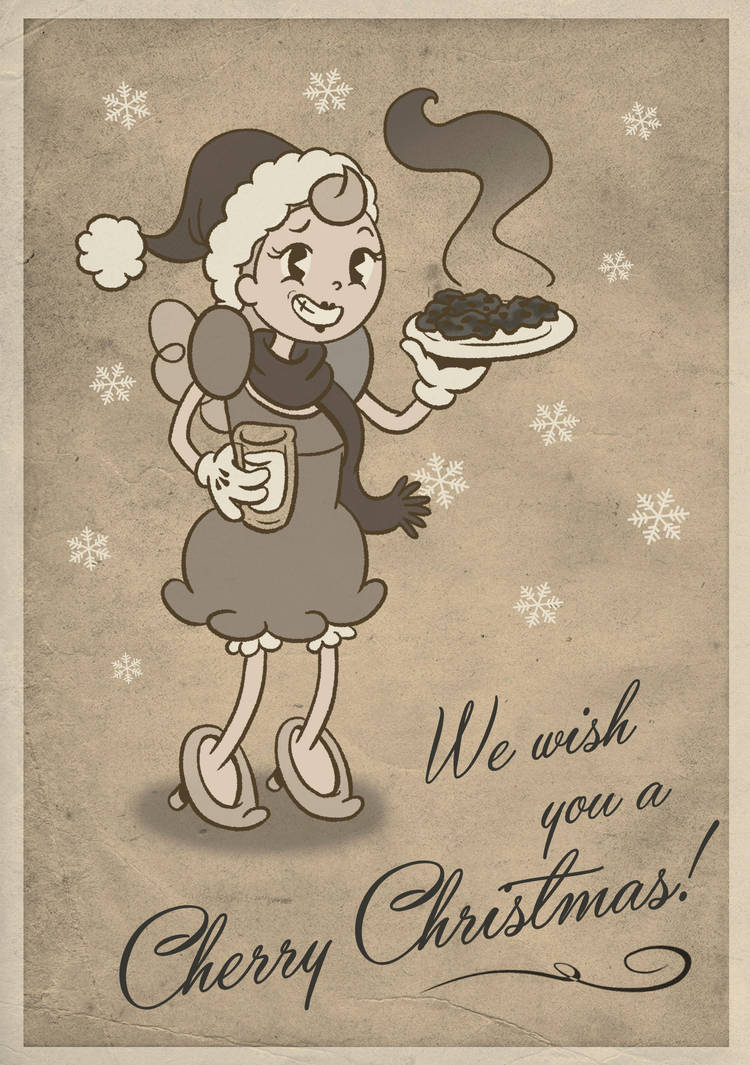 We wish you all a Cherry Christmas! by RedLittleHouse