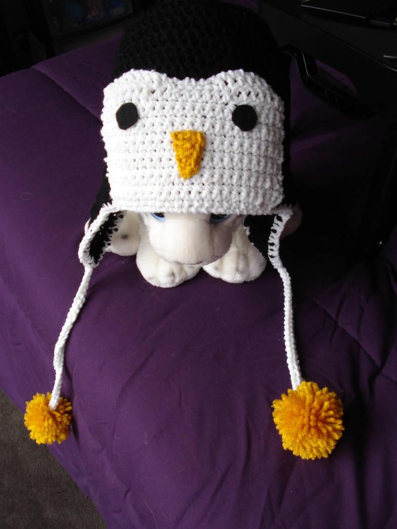 Crochet Penguin Hat By Elmira San On Deviantart