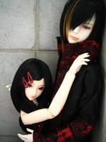 Tsukasa and Hitomi 001 by sitnyx