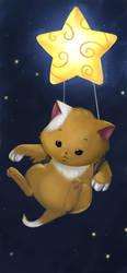 star kitten by lightshelter