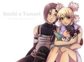 Commission: Itachi x Temari by lightshelter