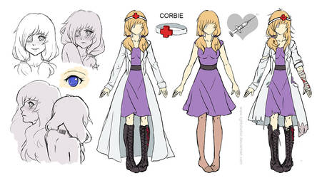 Corbie Referencesheet by lightshelter