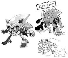 Sonicmen by PersonaSama