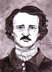 Edgar Allan Poe by Soukyan
